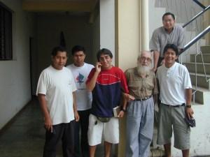 Padre Bolla, joven entre jóvenes